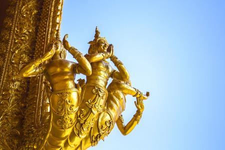 garuda: Statue of Garuda, King