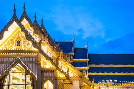 The Royal Cremation Ceremony of His Majesty King Bhumibol Adulyadej to open to public in Sanam Luang Bangkok, Thailand - November 28, 2017 Stock Photo