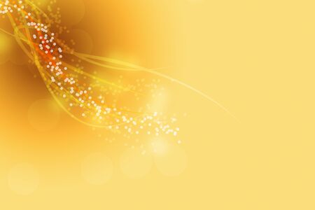 Brown and Yellow Background with smooth lines
