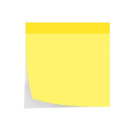 post it note: paper note Stock Photo
