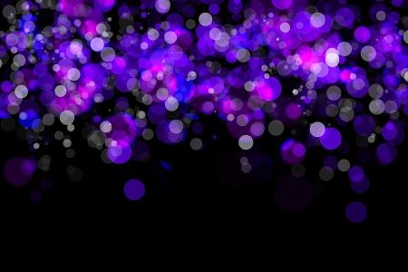 sparking: Abstrack blue background, light sparking circle design Stock Photo