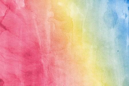 parchment: Abstract painted watercolor background on paper texture. Stock Photo