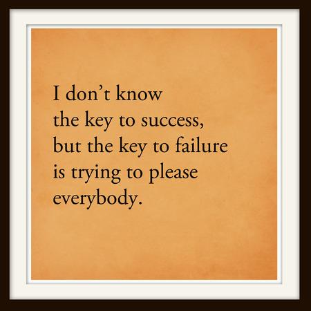 Inspirational Motivational Life Quote on Modern Frame Background Design.