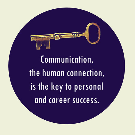 key words art: Inspirational Motivational Life Quote on  Background Design. Stock Photo