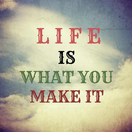 mindful: Inspirational Motivational Life Quote on  Vintage Background Design.