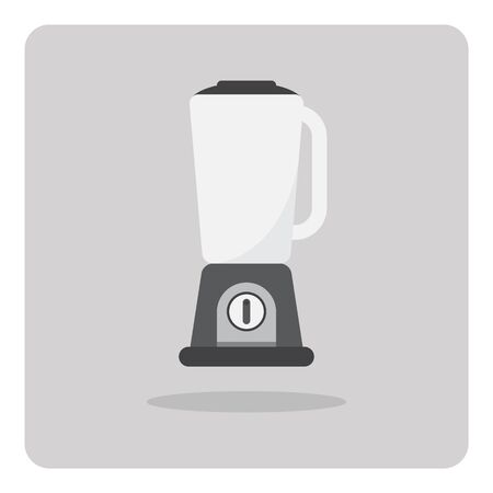 Vector of flat icon, electric blender on isolated background