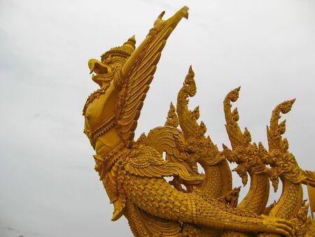 garuda: pagoda Garuda Stock Photo