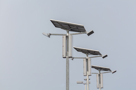 Lighting using solar energy as a power generator or alternative to the global green economy. natural Resources