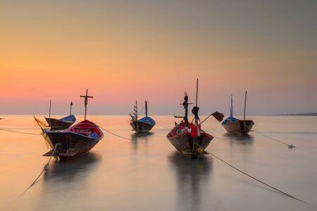 murk: The fishing boat old style at Kon Ao Beach, Rayong, Thailand.