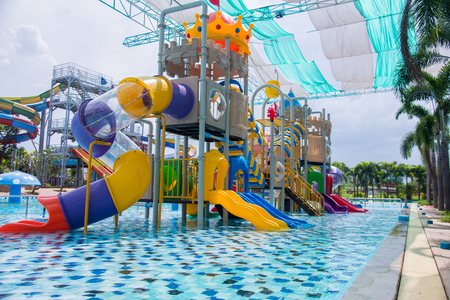 Water Park with pool swim