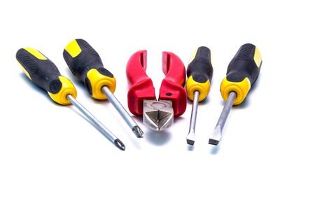 different jobs: A set of tools used in different jobs