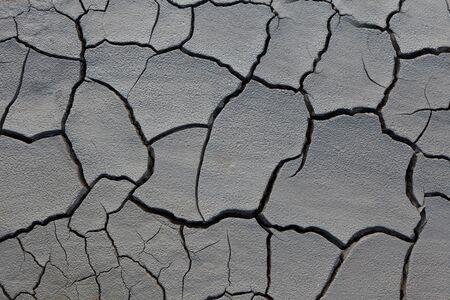 una texture piacevole su una terra arida