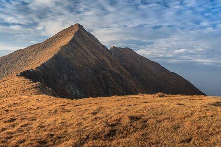 highest: Landscape in Charpathian Mountains of Moldoveanu, the highest summits of Romania (Moldoveanu 2544 m)