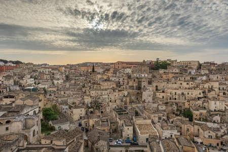 matera: The ancient city of Matera. Basilicata, Italy