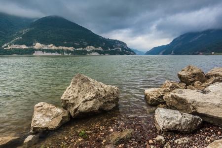 Passaggio del Danubio attraverso i Carpazi, in Romania Archivio Fotografico