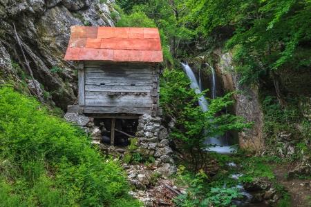 baile: Devils mill in  Gorge Tasnei . Baile Herculane, Romania
