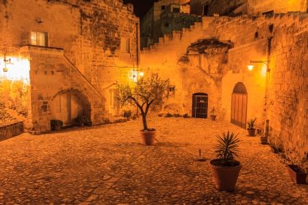 L'antica citt� di Matera. Basilicata, Italia. Citt� nella roccia