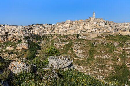 sassi: The ancient city of Matera. Basilicata, Italy