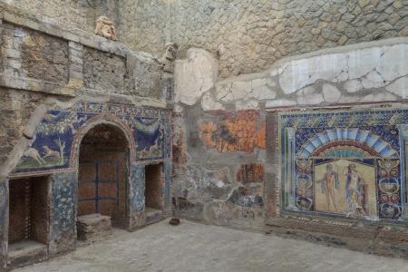 Mosaico Muro di Nettuno e Anfitrite da Ercolano