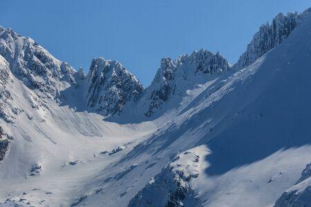 Custura Saratii in the Fagaras Mountains, Romania Stock Photo