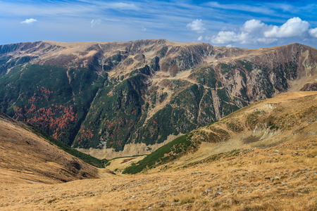 fagaras: paesaggio di montagna nei Carpazi, Fagaras, Romania
