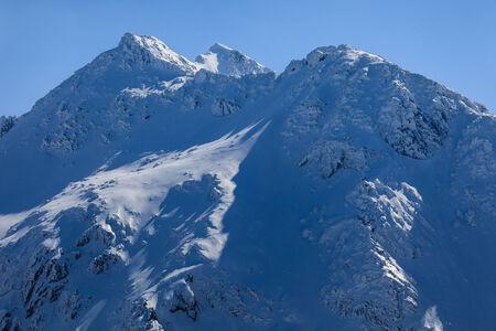 fagaras: The Fagaras Mountains in winter. Southern Carpathians, Romania