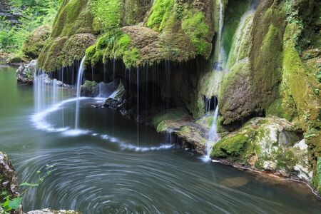 waterfall: Waterfall Bigar. Located at the intersection with the parallel 45 in Romania