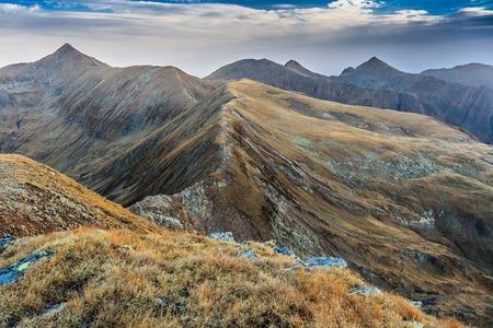 fagaras: mountain landscape in the Carpathian Mountains, Fagaras, Romania