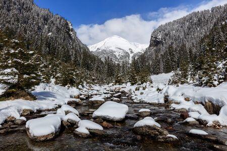 fagaras: a beautiful river in Fagaras Mountains, Romania