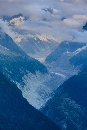 Glacier Mer de Glace , Mont Blanc - Chamonix, France