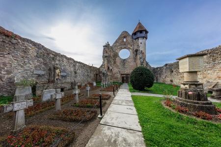 Carta, Romania. The old ruined cistercian abbey from Transylvania