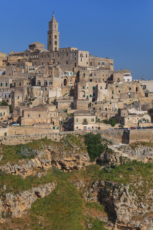 Matera village. Unesco World Heritage Site, Italy