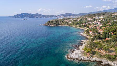 coast of the town Nea Iraklitsa near Kavala, Greece.