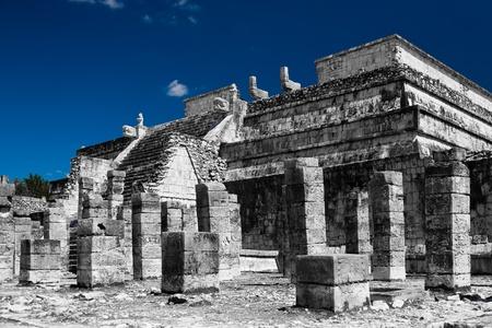 chichen itza: Chichen Itza feathered serpent pyramid, Mexico