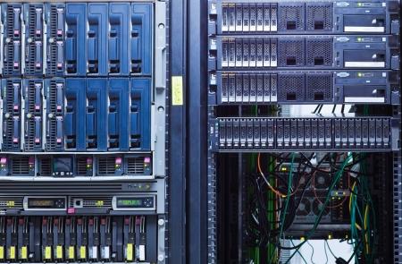 server farm: Network servers in a data center.