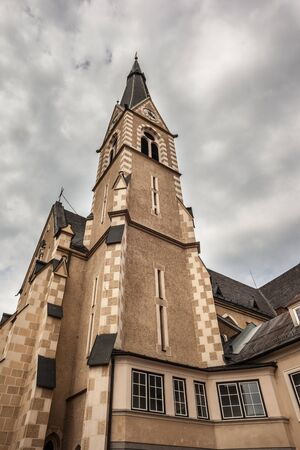exter view of a church located in Villach, a city in the south of Austria Stock Photo - 19413925