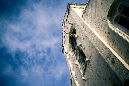 ecclesiastical: an antique church located in Barletta, a city located in Apulia, South Italy
