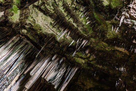 drop ceiling: The Castellana Caves are a remarkable karst cave system located in the municipality of Castellana Grotte, Italy Stock Photo