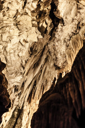castellana: The Castellana Caves are a remarkable karst cave system located in the municipality of Castellana Grotte, Italy Stock Photo