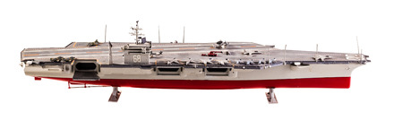 usn: Supercarrier of the United States Navy, and the lead ship of its class
