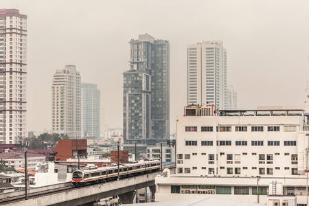 modernize: The two line Bangkok BTS is a 31 kilometer elevated transit system referred to as the Skytrain, or rot fai fah