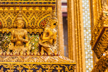 The Phra Mondop was the first building built of the upper terrace. It is a sort of library photo