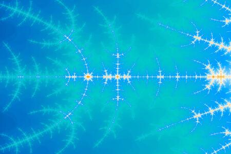 newage: a digitally generated colorful fractal background based on the mandelbrot set