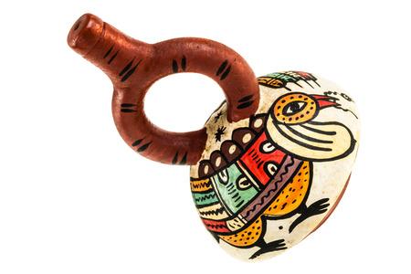 onward: La botella de asa estribo cer�mica era un recipiente importante entre los pueblos de la costa norte peruana desde el segundo milenio antes de Cristo en adelante