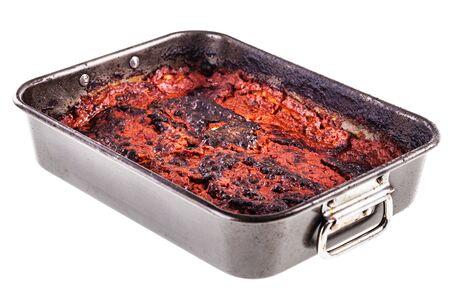 vegetable tin: a delicious baking tin of italian parmigiana made with eggplant
