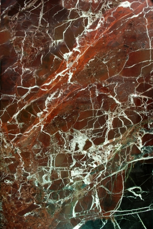 black granite: Red marble with white line Stock Photo