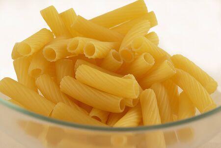 dry provisions: macaroni