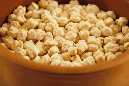 garbanzo bean: A bowl ofchickpea