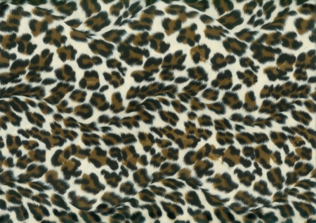 purple leopard fur photo