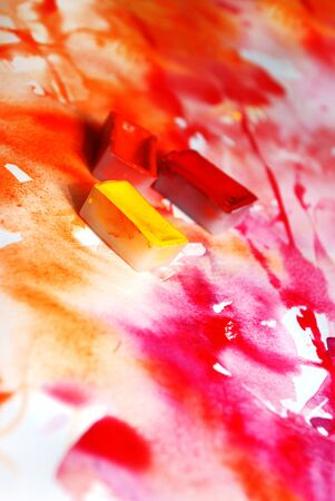 abstract hand drawn watercolor background Stock Photo - 15043493